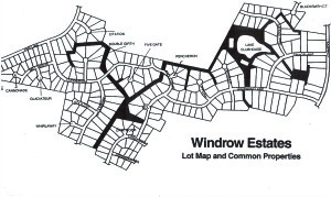 Windrow Map